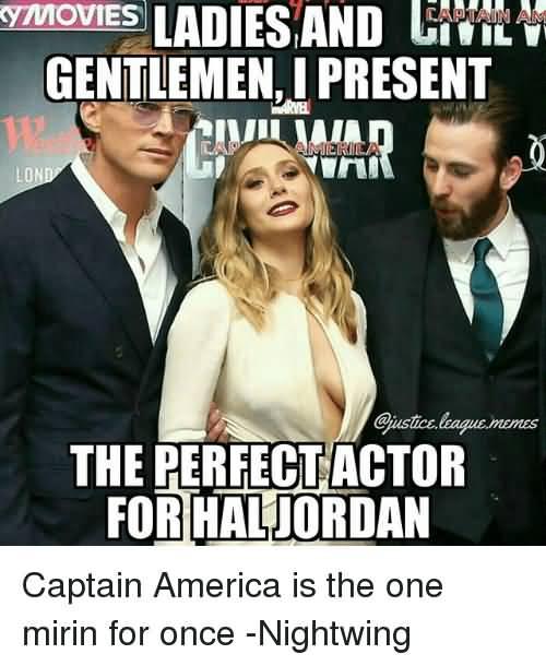 Ladies And Gentleman I Present Captain Marvel Meme