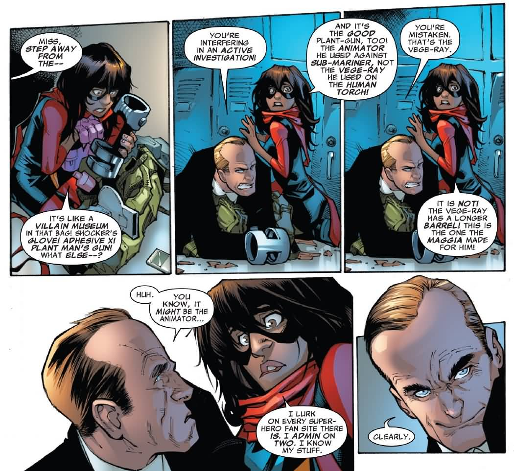 Miss Step Away From The Ms. Marvel Meme