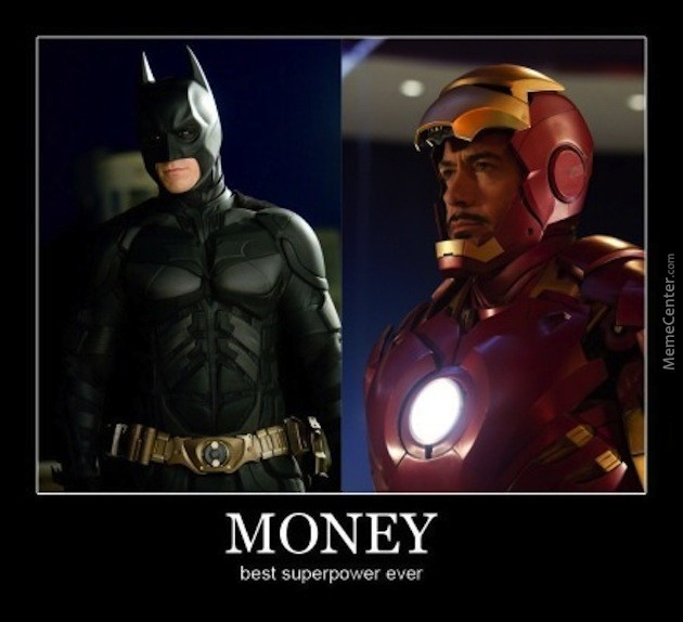 Money Best Superpower Ever War Machine Meme