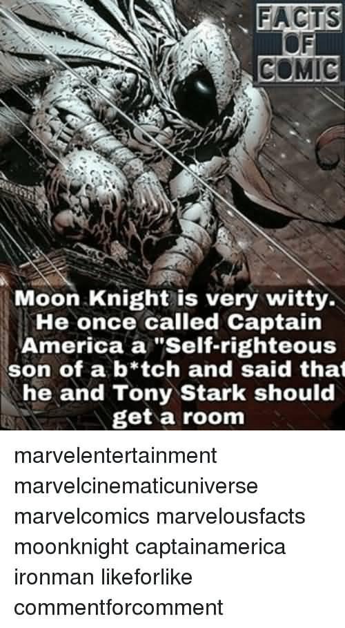 Moon Knight Is Verty Witty Moon Knight Meme