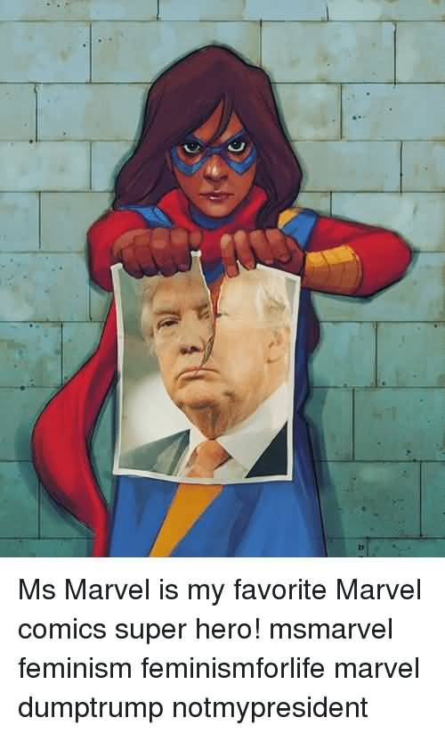 Ms Marvel Is My Favorite Ms. Marvel Meme