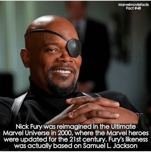 Nick Fury Was Reimagined Nick Fury Meme