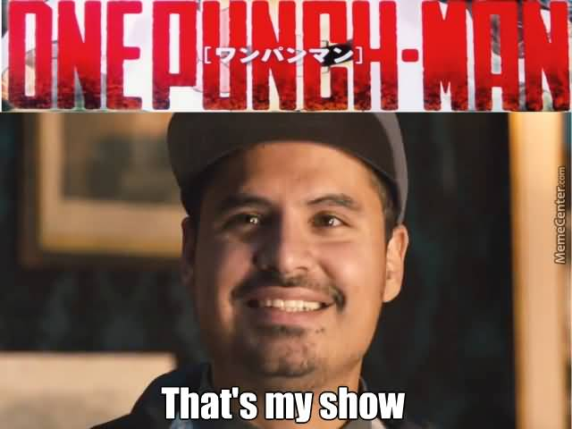 One Punch Show That's Ant Man Meme