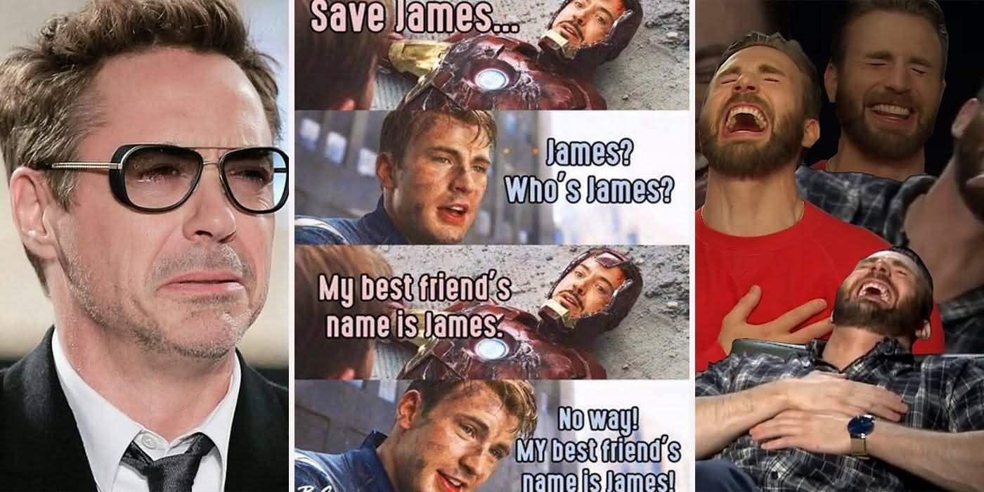Save James James Who's James Captain Marvel Meme