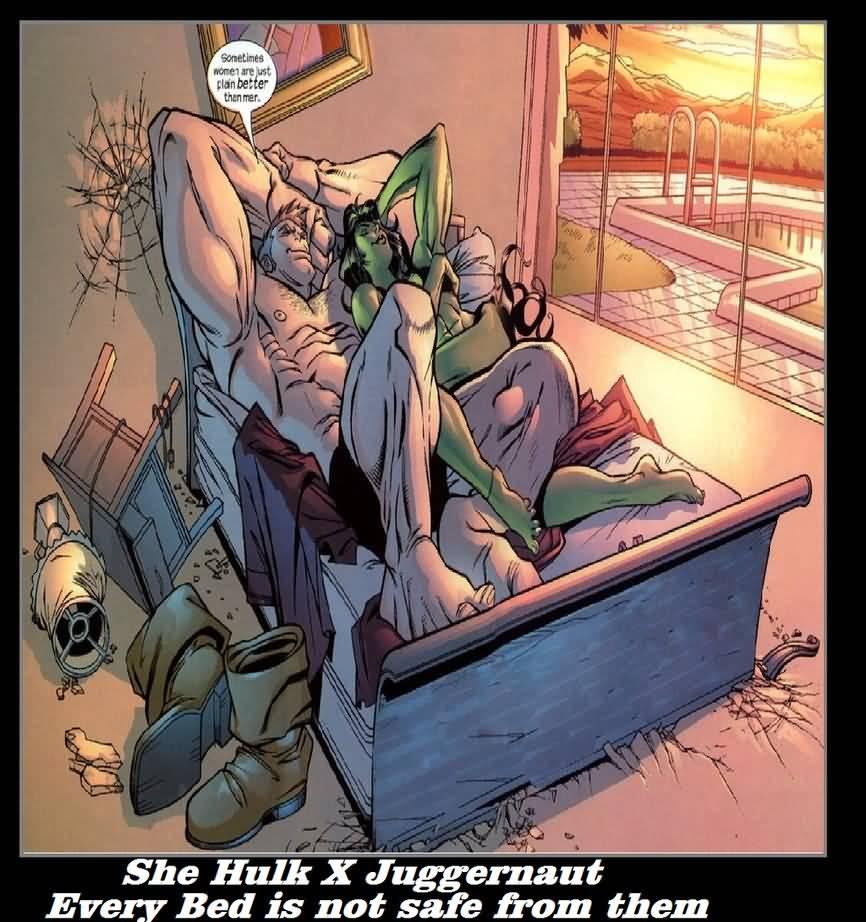 She Hulk X Juggernaut Every She Hulk Meme