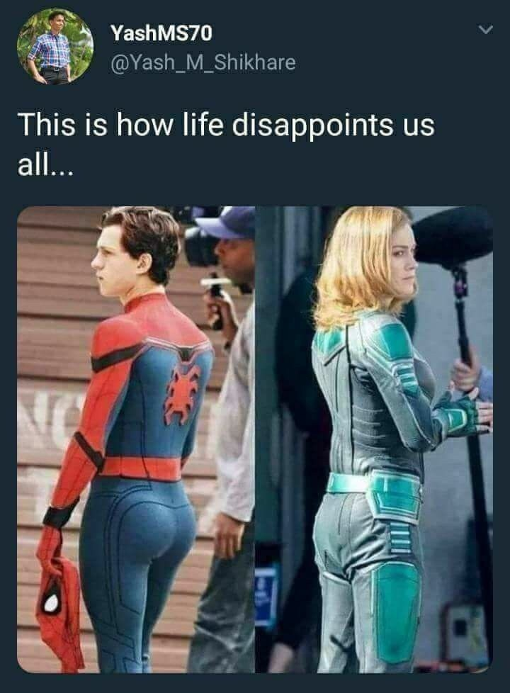 This Is How Life Captain Marvel Meme