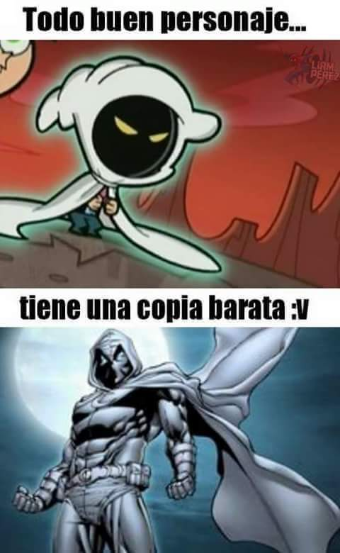 Todo Buen Personaje Tiene Moon Knight Meme