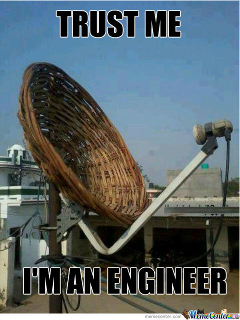Trust Me I'm An Engineer Cable Meme
