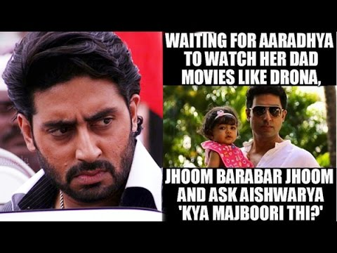Waiting For Aaradhya To Watch Her Abhishek Bachchan Meme