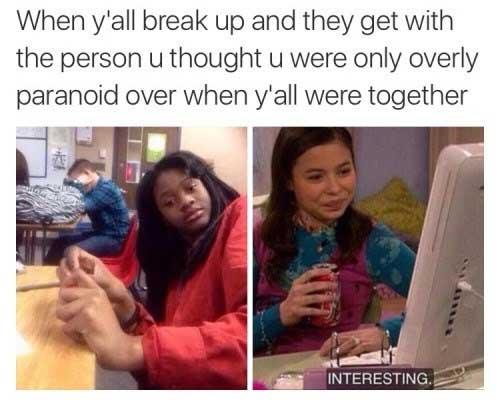 When Y'all Break Up Break up Meme