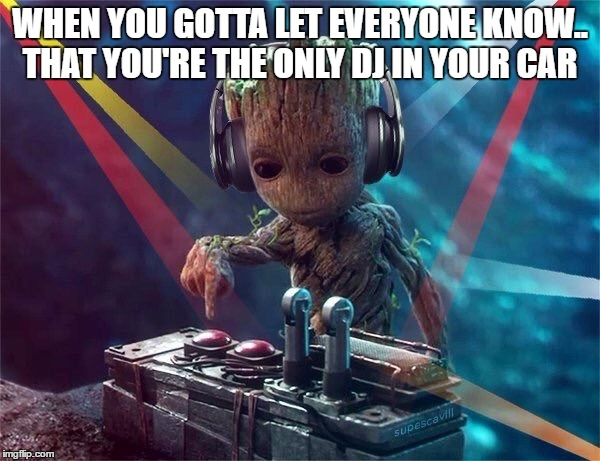 When You Gotta Let Groot Meme