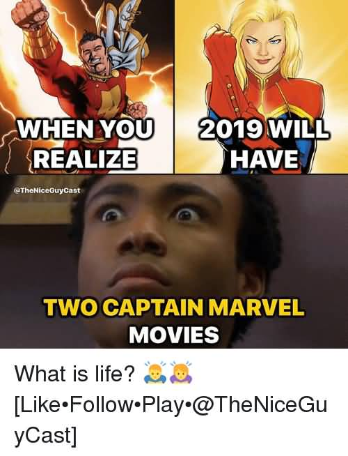 When You Realize 2019 Will Have Ms. Marvel Meme