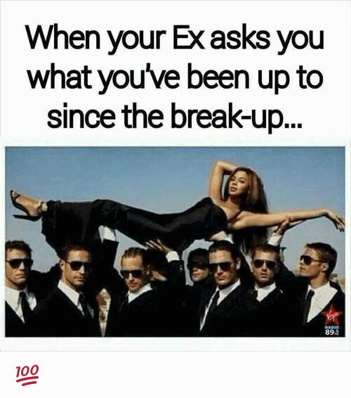 When Your Ex Asks You Break up Meme
