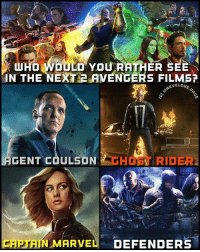 Who Would You Rather See Captain Marvel Meme