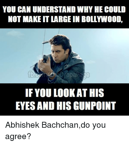 You Can Understand Why Abhishek Bachchan Meme