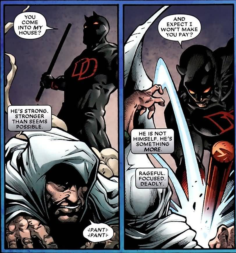 You Come Into My House Moon Knight Meme