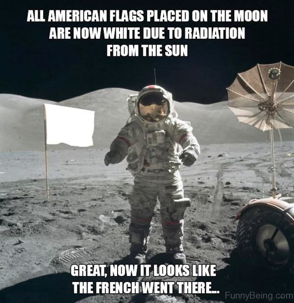 All American Flags Placed American Meme