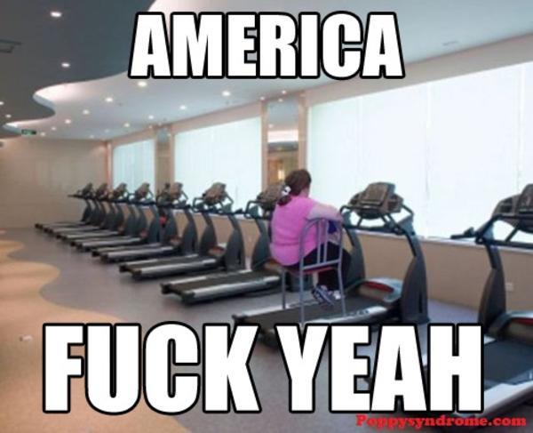 America Fuck Yeah American Meme