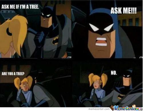 Ask Me If I'm Batman Memes