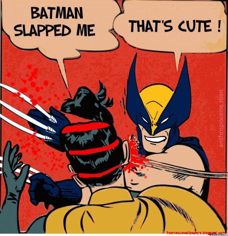 Batman Slapped Me That's Batman Slapping Robin Memes