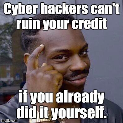 Cyber Hackers Can't Ruin Black Guy Thinking Meme