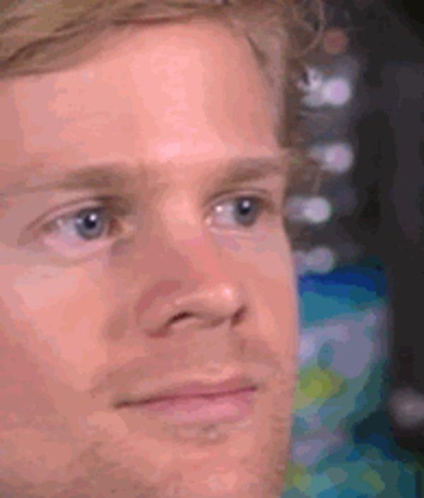 Face Reaction Blinking Guy Meme