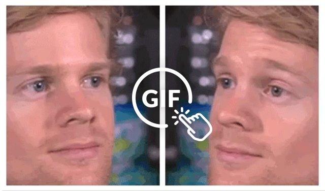 Gif Blinking Guy Meme