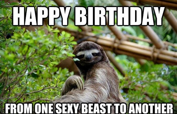 Happy Birthday From One Best Friend Happy Birthday Meme