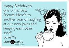 Happy Birthday To One Best Friend Happy Birthday Meme