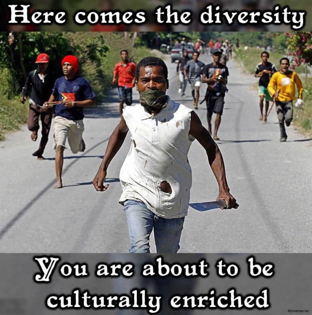Here Comes The Diversity Anti Islam Memes