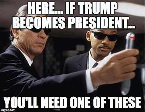 Here If Trump Becomes Black Meme