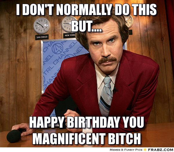 I Don't Normally Do This Birthday Memes