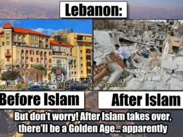 Lebanon Before Islam After Anti Islam Memes