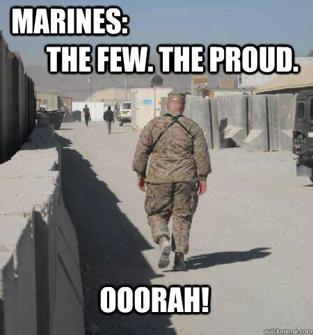 Marines The Few The Army vs Marines Memes