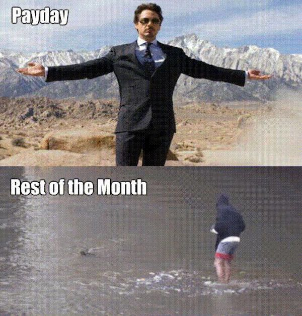 Payday Rest Of The Payday Meme