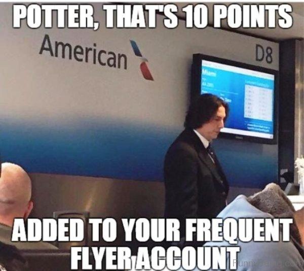 Potter That's 10 Points American Meme