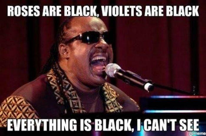 Roses Are Black Violets Black Meme