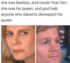 She Was Fearles And Blinking Guy Meme