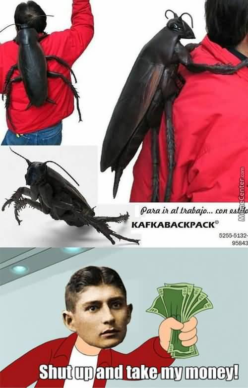Shut Up And Take Backpack Meme