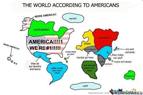 The World According To American Meme