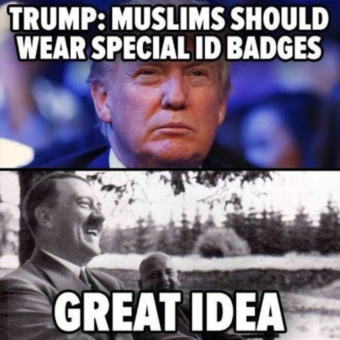 Trump Muslims Should Wear Anti Islam Memes