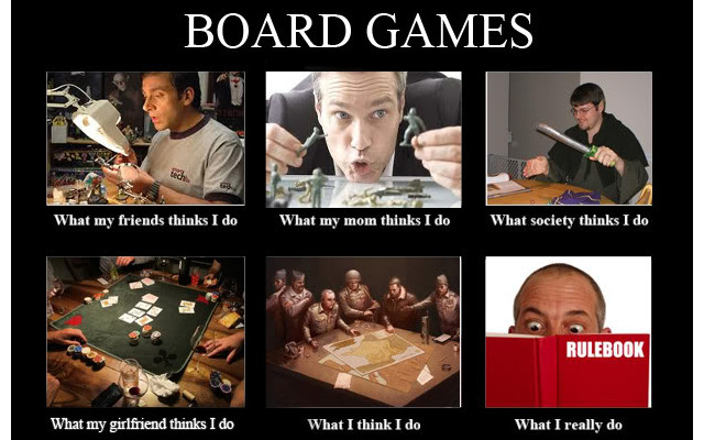 What My Friends Think Board Game Meme