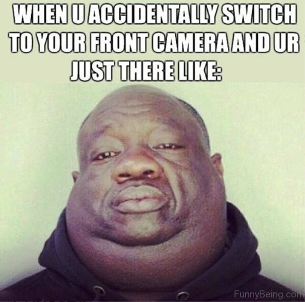 When U Accidentally Switch Black Meme