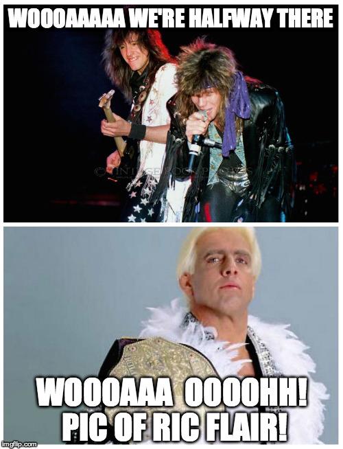 Woooaaaaa We're Halfway There Bon Jovi Memes