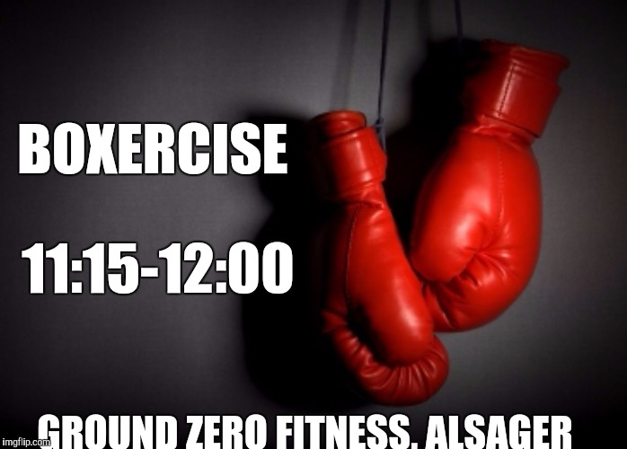 Ground Zero Fitness Alsager Boxing Glove Meme