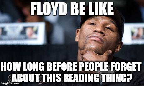 How Long Before People Boxing Memes Mayweather