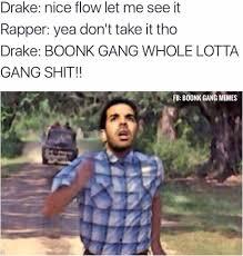 Nice Flow Let Me Boonk Gang Meme