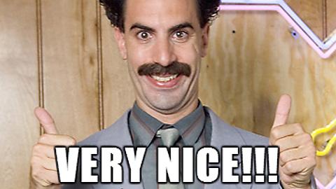 Very Nice Borat Very Nice Meme