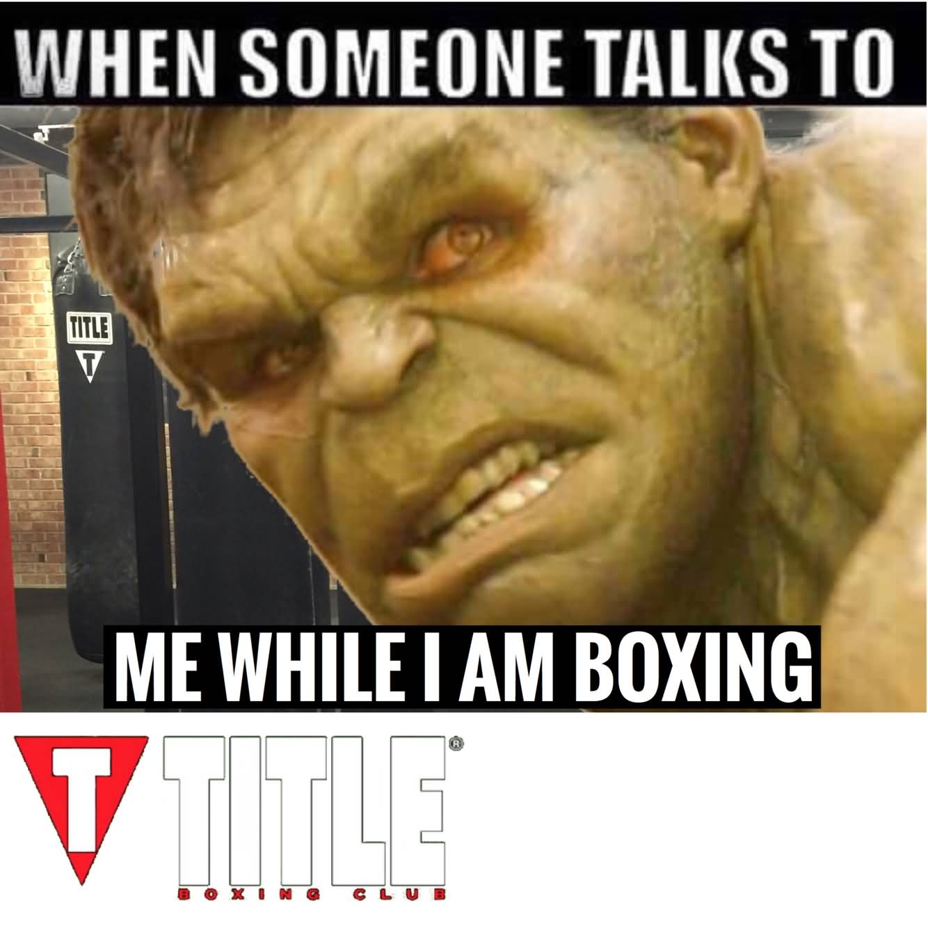 When Someone Talks To Boxing Meme