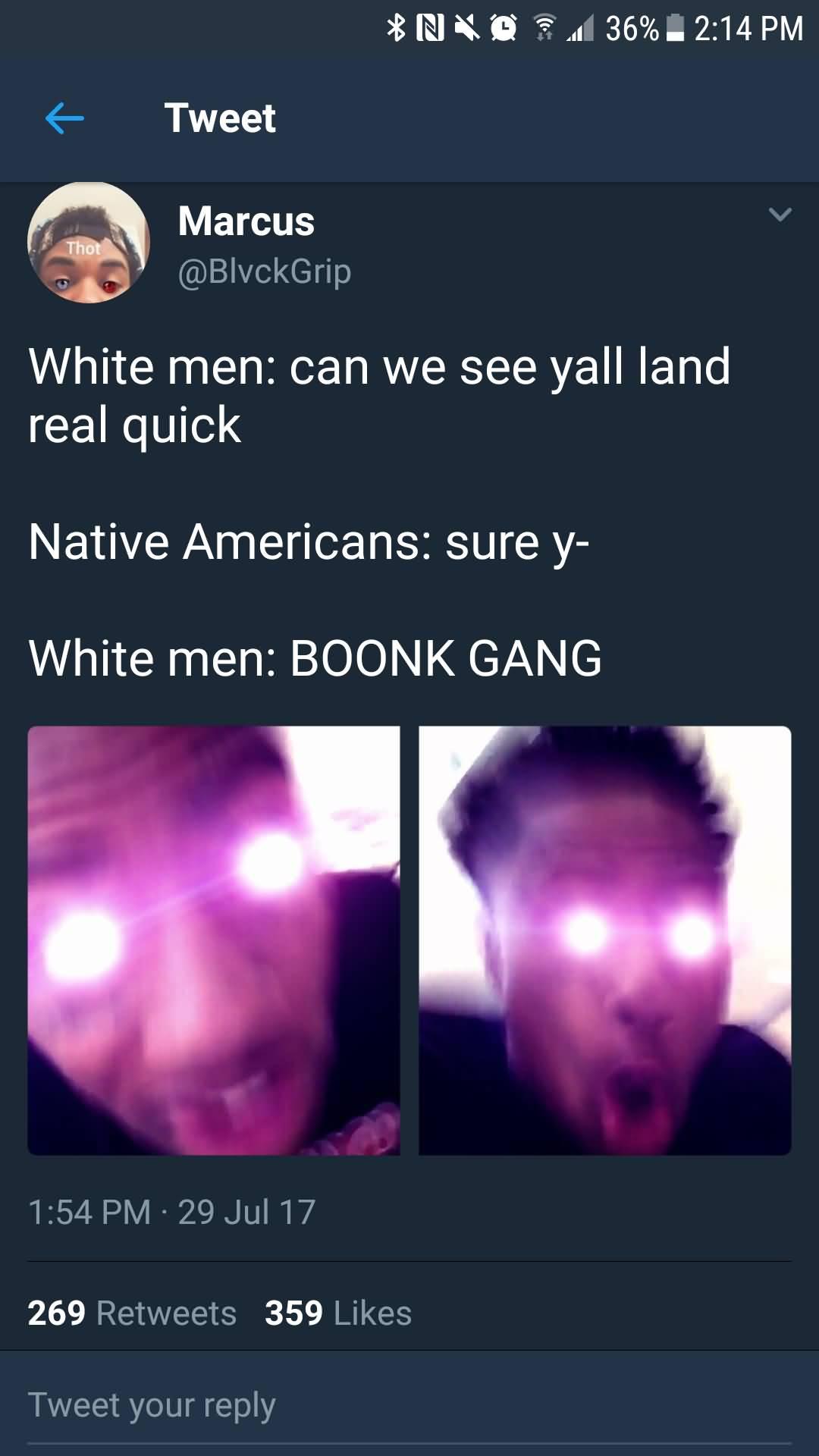 White Men Can We Boonk Gang Meme